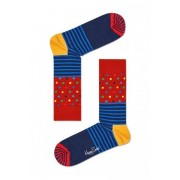 Happy Socks 1pack Sokken Stripes & Dots 41-46