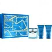 Versace Man Eau Fraîche lote de regalo VII. eau de toilette 50 ml + gel de ducha 50 ml + bálsamo after shave 50 ml