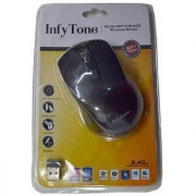 Infytone Wireless Optical Mouse (Pack of 10 Pieces)