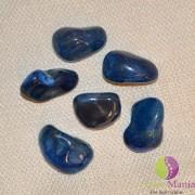 Agat albastru rulat 20-25mm