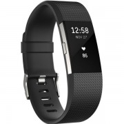 9503030206 - Narukvica Fitness Fitbit Charge2 (black/silver L) FB407SBKL