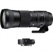 Sigma 150-600mm Obiectiv Foto DSLR F5-6.3 DG HSM OS Sports Kit cu TC-1401 1.4x Montura Nikon FX