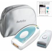 Set epilator lumina pulsata IPL 5 100000 impulsuri cu aparat de ras Babyliss Homelight Essential
