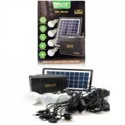 Kit Solar Incarcator Urgente cu Panou Solar GdLite GD8015A 12V7Ah