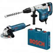 Ciocan rotopercutor Bosch GBH 5-40 DCE + Polizor unghiular (flex) Bosch GWS 850 C, 8.8J, 1150W