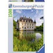 Puzzle CASTELUL AZAY LE RIDEAU 1500 piese Ravensburger