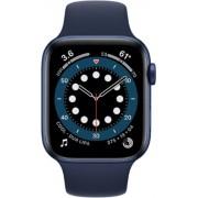 Apple Watch Series 6 44mm (GPS) Aluminium Case Blue Sport Band Navy Albastru