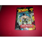 Robot Wolverine Action Figure with Robotic Arm Weapons
