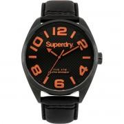 Superdry - Heren Horloge Military SYG192BRA - Zwart