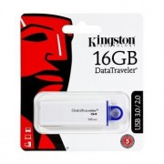 Memória USB Kingston Generation 4 Data Traveler - 16GB