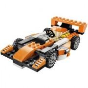 Emob Decool 119 pcs 3 in 1 Architect Sunset Speeder Car DIY Block Construction Set Toy (Multicolor)