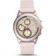 Fossil Bracelet de montre Fossil ES4172 Silicone Rose 20mm