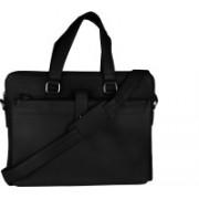HugMe.fashion 12 inch Laptop Messenger Bag(Black)