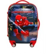 Cloud9JP BOYS FAMOUS CARTOON CHARACTER PRINTED RED TROLLY BAG 18 INCHES( Double zipper ,expandable, Number lock,360DEGREE Rotating wheels,Easyto move,Durable quality)RED COLOR … Expandable Cabin Luggage - 18 inch(Multicolor)