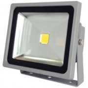 Luminea Projecteur étanche IP65 à LED 30 W Blanc chaud