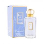 Oscar de la Renta Live in Love New York eau de parfum 100 ml donna