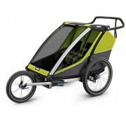 Thule Chariot Cab2, Chartreuse