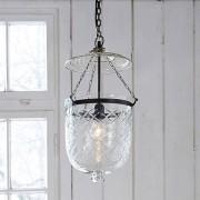 LOBERON Hanglamp Rowan / helder/zwart