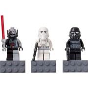 LEGO STAR WARS Magnet Set: Battle-Damaged Darth Vader, Snowtrooper and Shadow Trooper / LEGO Star Wars Magnet Set ?Darth Vader (Damage Version), Snow Trooper (Cold Assault · Storm Trooper), Shadow · Trooper? 852715