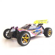 ALEKO 4WD Nitro Powered Off-Road Buggy Vehicle (1:10 Scale), Pink
