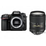 Kit aparat foto Nikon D7500 DSLR (cu obiectiv 18-300mm VR), negru