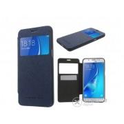 Husa din piele Mercurycase Wow Bumper pentru telefon Samsung Galaxy J5 (2016) (SM-J510), albastru inchis