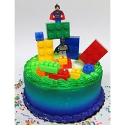 Cake Toppers Super Hero LEGO BATMAN Birthday Cake Topper Set Featuring Figures and Decorative Themed Accessories