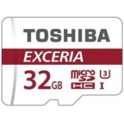 Toshiba Exceria 32 GB MicroSD Card UHS Class 3 90 MB/s Memory Card(With Adapter)