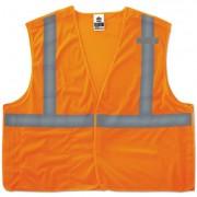 Glowear 8215ba Type R Class 2 Econo Breakaway Mesh Vest, Orange, 2xl/3xl