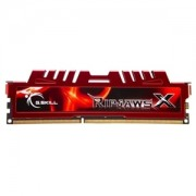 Memorie G.Skill RipJawsX 8GB (1x8GB) DDR3 PC3-14900 CL10 1866MHz Intel Z97 Ready, F3-14900CL10S-8GBXL
