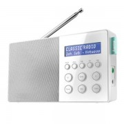 Hama | DR10 Digital Radio, Fm/dab/| 30 Memory Slots | Battery And Main