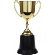 Geen Gouden trofee/prijs beker met oren 22 cm