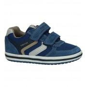 Geox Blauwe Klittenbandschoenen Geox