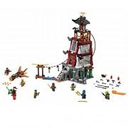 Compatible Ninja Ninjagoed The Lighthouse Siege Marvel Ninja Building Blocks Model Kits Toy