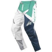 Scott 450 Podium Pantalones de Motocross Verde Azul 28