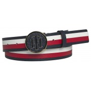 Tommy Hilfiger colori in pelle cintura TH Round Buckle Belt 3.0 Corporate - 90