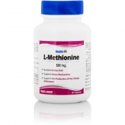 Healthvit L-Methionine 500mg 60 Capsules