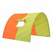 Tunel za krevet Narandžasta/Zelena