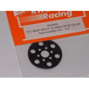 RW48X72T 72T 48DP Xray T4. T2, T3 offset Supa-lite Spur Gear 72 Tooth