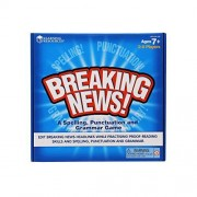 Learning Resources Breaking News! Juego educativo de ortografía, puntuación y gramatica