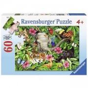 Пъзел от 60 части - Tropical Friends, Ravensburger, 707451