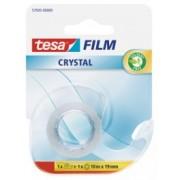 tesafilm Crystal, číra kancelárska páska s odvíjačom, 10m x 19mm 57935-00000-01