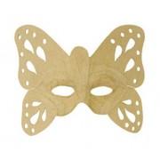 Obiect decor masca fluture Decopatch
