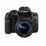 APARAT FOTO CANON DSLR EOS 750D 25MP + EF-S 18-55 IS STM BLACK