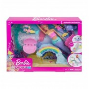 Barbie Dreamtopia Gradinita de sirene set de joaca FXT25