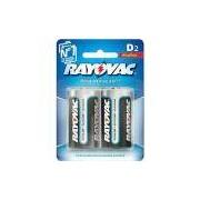 Pilhas Alcalinas D (2 Unid) - Rayovac