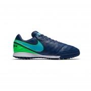 Zapatos Fútbol Hombres NikeTiempo Mystic V TF-Azul