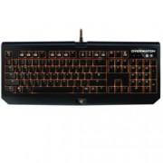 Клавиатура Razer Overwatch BlackWidow Chroma, гейминг, подсветка, черна, USB