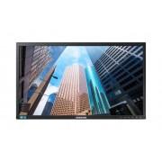 "Samsung Business Monitor 27"" Samsung Ls27e65uxs / S27e650x Led Full Hd 60 Hz Usb Hub Nero Refurbished Senza Base"