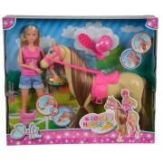 Simba Lalki SL Steffi i jej słodki koń 105733052
